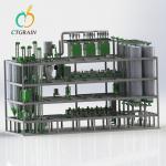 Chakki Atta Plant Machinery Steel Platform Roller Flour Mill Plant 150tpd Manufactures