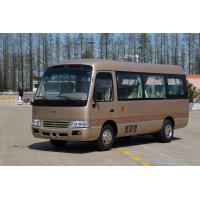 Staff Vehicle Air Conditioner Coaster Minibus Tourist City Trans Bus 3308mm Wheel Base Manufactures