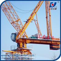 16t Building Luffing Tower Crane D6029 Model 60M Large Jib 2.9t End Load Manufactures