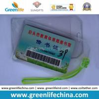 Cheapest Factory Supply Soft PVC Card Holder for Luggage Tag Manufactures