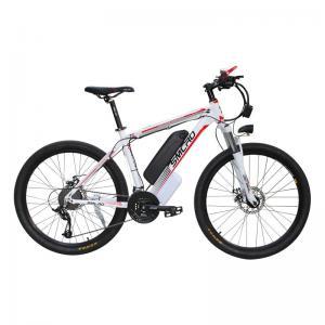 48V 350W Electric Snow Bike , Electric Mountain Bike Mtb Aluminum Alloy Frame Manufactures