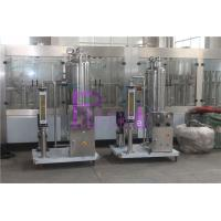 CO2 / Syrup Soft Drink Processing Line For Carbonated Drink Filling System Manufactures