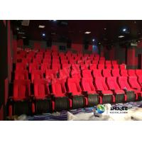 Sound Vibration Movie Theater System Arc Screen With Special Leather Theater Chairs Manufactures