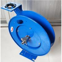 15m Length Retractable Hose Reel Drum Spring Driven Auto Type Blue Color Manufactures