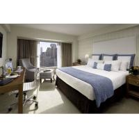 Deluxe Hotel Room Furnishings ,  King Size Hotel Guest Room Furniture In PU Finish Manufactures
