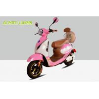 China 500 Watt Two Wheel Electric Moped Scooter For Adults 38Km / H 79Kgs on sale