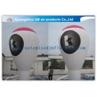 Custom Large Ground Inflatable Advertising Balloon For Commercial Event Manufactures