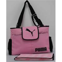 China Pink Baby Diaper Nappy Bag Tote Mother Multifunctional Handbag With Changing Pad on sale