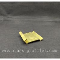 Brass Alloy Metal Products Industrial Profiles with Customized Sizes Manufactures