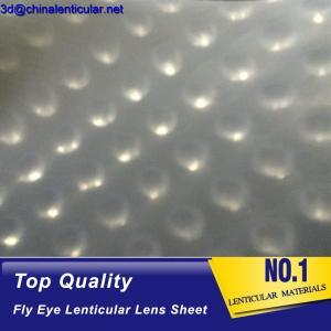 latest flying 3d lenses fly-eye plastic sheet film fly eye lenticular sheet
