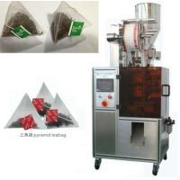 Automatic pyramid nylon tea bag packing machine with envelop Manufactures