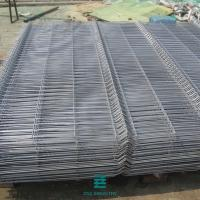 China 3D Farm Galvanized Welded Wire Mesh Panels , Silver Welded Fence Panels on sale