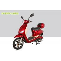 25-32km/h Canada moped power assisted electric scooter/bicycle with 500W 48V battery Manufactures