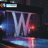 China Outdoor Programmable Water Wall Graphical Fall Digital Water Curtain on sale