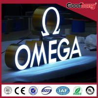 China Brightness backlit metal letters and numbers, LED letter signs, on sale