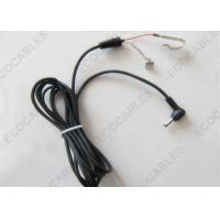 OEM Cable Assembly Right Angle DC Plug To Open Shrapnel 3.5*1.35mm Connector Manufactures