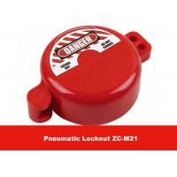 32MM Valve Stem Hole ABS Material Red Safety Cylinder Tank Pneumatic Lockout Manufactures