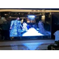 Buy cheap Graphics Transparent Led Display Screen Ultra Thin 10.4mm Pixels For Shopping from wholesalers