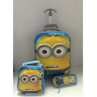 Hot sale 16-inch 6D EVA kids luggage + lunch bags +pencil case Manufactures