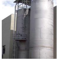 Buy cheap 15 Tons OEM Plastic Raw Material Storage Tank for Central Feeding System from wholesalers