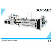 High Speed Automatic Folder Gluer Glue Circulation For Small Express Box , 140 M/Min Manufactures