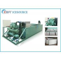Evaporative / Air / Water Cooled Ice Machine , Automatic Ice Machine Large Production Manufactures