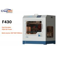 High Resolution Carbon Fiber 3D Printer CreatBot F430 For Aerospace / Electronics Manufactures