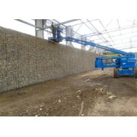 Flexible Retaining Wall Gabion Baskets / Economic Stone Wall Wire Cage Manufactures