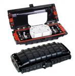 6 ports fiber Optic Splice Closure Joint Box ETC-H008 395×195×130MM Manufactures