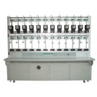 Single Row Electrical Energy Meter Test Calibration Bench for 6 / 8 KWH Meters Manufactures