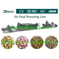 Automatic Pet Food Extruder Machine for dog , cat , fish Manufactures
