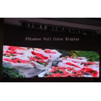Advertising P5 Indoor Full Color Led Display For Shopping Malls , 160*160mm Manufactures