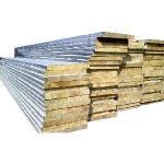 Fireproof Rock Wool Sandwich Wall Panel Manufactures