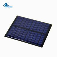 0.5W 5.5V cheapest Epoxy Resin Solar Panel for solar cell phone charger ZW-6855 solar photovoltaic panels Manufactures