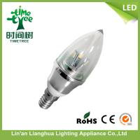 220V - 240V 4w LED Candle Light Bulbs / Lamps For home , Decorative LED Candles Manufactures