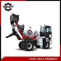 China Small Machinery Type 2 Cubic Mobile Concrete Mixer Truck Concrete Mixer Lorry on sale