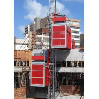 2 Car ABB Motor Construction Material Hoist, Cage Size 3.2×1.5×2.2m Manufactures