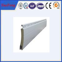 Aluminum roller shutter door Extrusion Formed Slat Profiles Manufactures