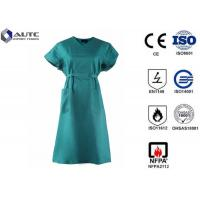 China Care Wear Nurse Surgical Green Scrubs , Maternity Medical Scrubs Reinforced on sale