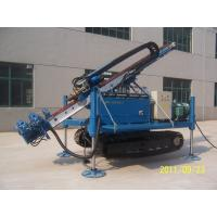 Air Anchor Drilling Rig Full Hydraulic Water Drilling Machine For Soil Sand Stratums Manufactures