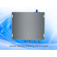 Quality compact 4channel broadcast 3GSDI over 1 singlemode fiber optic extender to 20 for sale