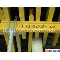 Q235 Steel Plate Concrete Forming Accessories Four Way Forkhead Box For Holding H20 Beams Manufactures