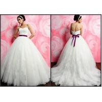 Tulle wedding dress with beautiful belt---AI225 Manufactures