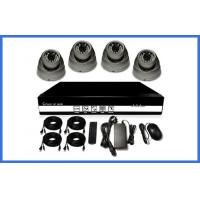 H.264 HD POE CCTV Camera Kits , Metal Dome Camera Support Mobile Manufactures