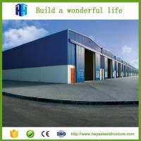 China Steel shed sandwich panel prefab houses industrial building for sale on sale