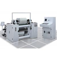 High Speed Label Slitter Rewinder Machine Photoelectric Correcting System Manufactures