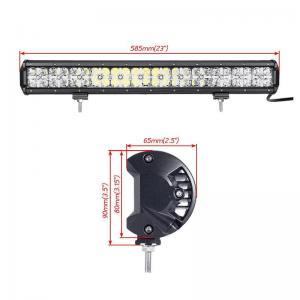 7D Cross 144 W DRL Car Roof LED Light Bar , 110v Led Flood Light Bar 2 Years Warranty Manufactures