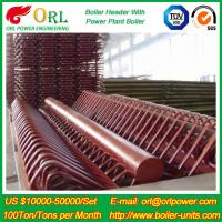Industry Electrical Water Boiler Power CFB Boiler Header 500MW Rate Factor Manufactures