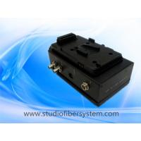Mobile studio fiber system for Panasonic cameras working with Datavideo MCU-100P control unit Manufactures