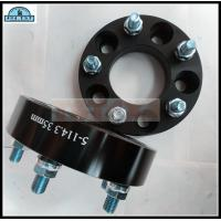 China Black Wheel Spacer Adapters Aluminum Black Wheel Spacer Fits Tacoma Lexus on sale